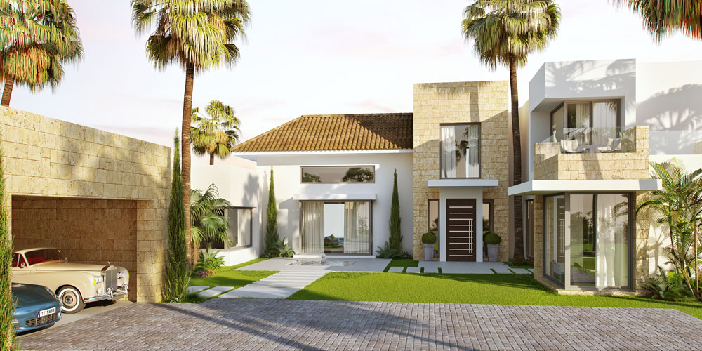 Luxury-Contemporary-Mansion-in-the-final-stages-of-construction---Los-Flamingos-Golf