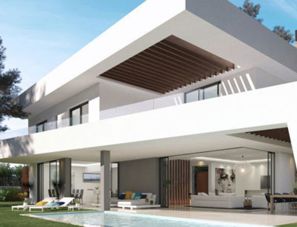 Fabulous modern off plan Villa for sale in Elviria