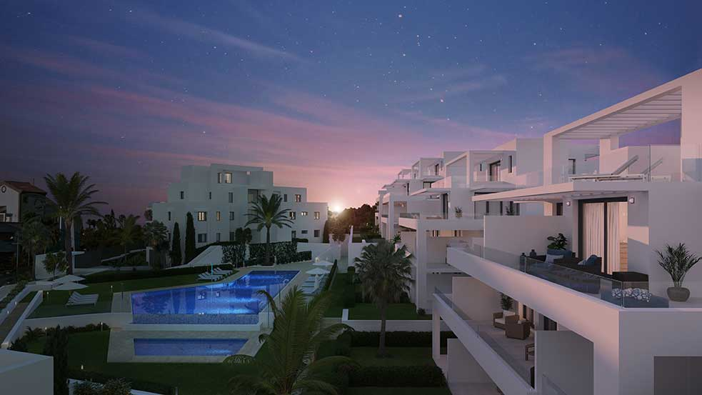 CORTIJO DEL GOLF is Real Estate Development 3 bedroom apartment estepona