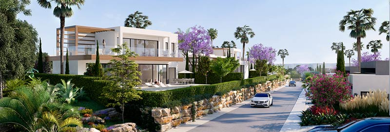 Arboleda New development villas for sale marbella, estepona