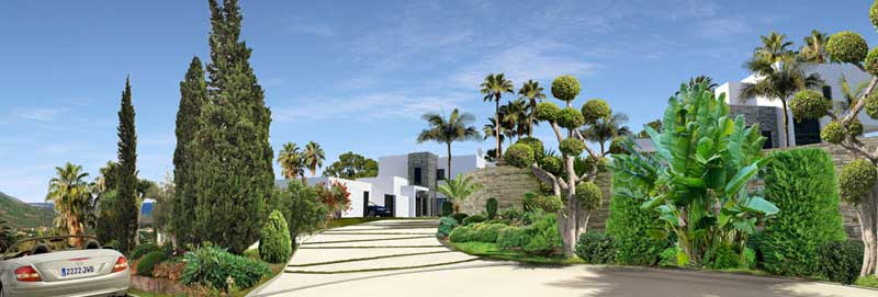 Concept Las Lomas de Marbella Club villas for sale costa del sol